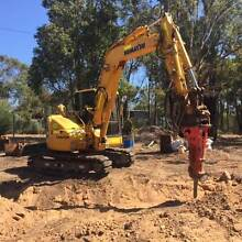 ROCK BREAKER AND AUGER HIRE Bayswater Area Preview