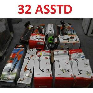 32 ASSTD POWER TOOLS LOT - 119743728 - EDGER TRIMMER BLOWER LAWN CARE GRASS MAINTENANCE SEE COMMENTS