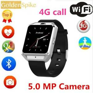 Unlocked H5 4G Sim Card Calls camera phone Bluetooth Smartwatch Q Doveton Casey Area Preview