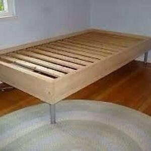 Ikea single bed frame new condition