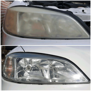Headlight Restoration - Make your car look new again for $60