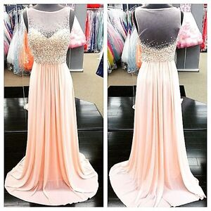 Women's Jovani Dress New Size 4 Sequin Gown Prom Wedding Formal