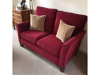 Large sofa, Two Seater Sofa, Armchair & Foot Stool