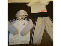 ADIDAS JOGGING SUIT AGE 4-5 yrs