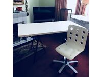 Ikea desk with FREE CHAIR