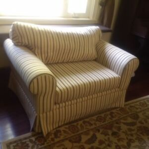 Over-Sized Accent Chair - $600