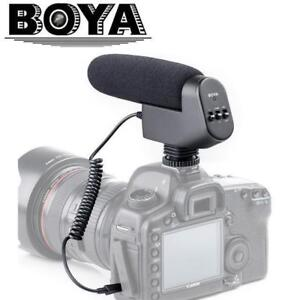 Professional Shotgun Condenser Microphone (BOYA BY-VM600) ON SALE - $89