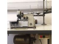 BROTHER INDUSTRIAL 4 THREAD OVERLOCKER (Excellent Condition and newly serviced) £650