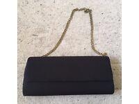 2 x Women's black handbags