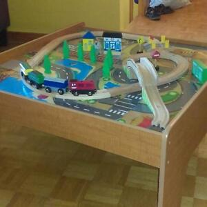 Table de train