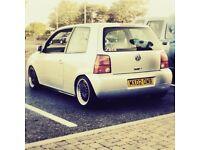 VW lupo, 1.4 modified!