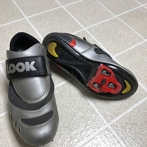Look Cycling Shoes size 44 (US 10)