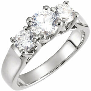 New Anniversary Ring - Three Diamonds - Better quality diamonds.