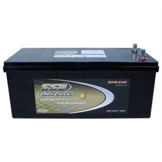 SSB HVT-160D Deep Cycle 160ah AGM Battery 3yr Warranty Adelaide CBD Adelaide City Preview