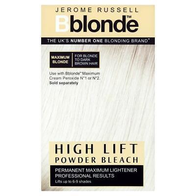 Jerome Russell Bblonde High Lift Powder Bleach 4 Sachets 25g Each