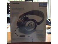 BOSE QC15 Noise Cancelling Head Phones Brand New, still in Cellophane