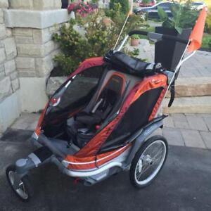 CHARIOT CHINOOK THULE  2 PLACES  (valeurs 1300$)