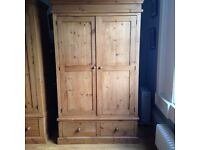 Antique style solid wood wardrobes