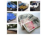 We buy all Vauxhall vivaro Nissan PRIMASTAR Renault trafic vans in any condition