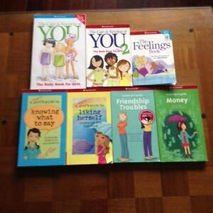 7 American Girl books. EUC. Great for 7-12 year old