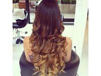 Hair extensions, brazillian knots, micro rings , la weave, vixen weave , closure, full weave on