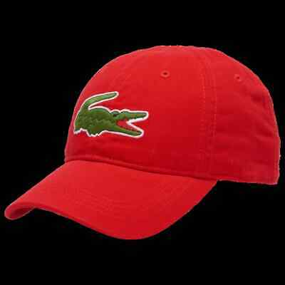 LACOSTE Baseball Cap Red