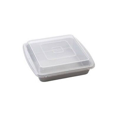 """Wilton 2105-9199 Recipe Right Covered Brownie Pan, Square, 9"""" x 9"""""""