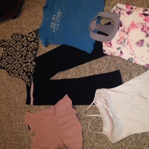 Lululemon clothes and various brands