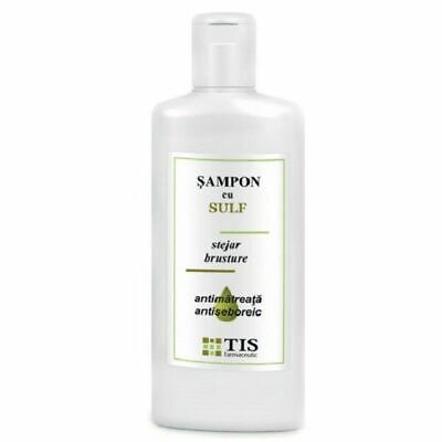 Sulfur Shampoo Cleans Strengthens Greasy Hair Anti-dandruff Anti-Hair Loss (Greasy Hair Anti Dandruff Shampoo)
