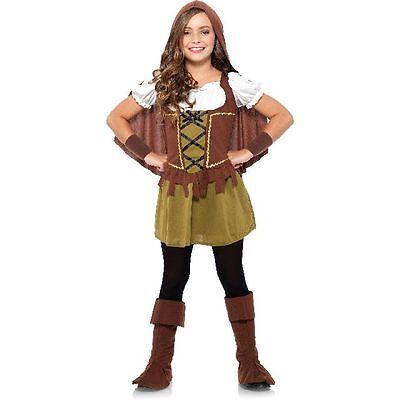 Sweetheart Robin Hood Girl Halloween Costume Medium 8-10 (New in Package)