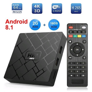 Boîte Android TV Box HK1 Mini 2GB 16GB New