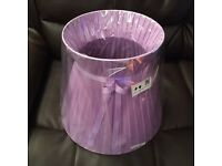 Brand New Lilac coloured lampshade - £5