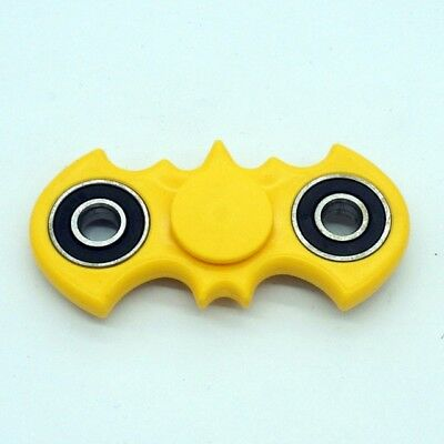 Yellow Batman Hand Fidget Spinner For Stress And Adhd Like Symptoms