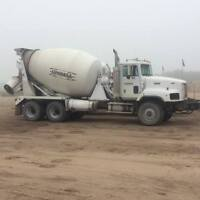 concrete mixer drivers