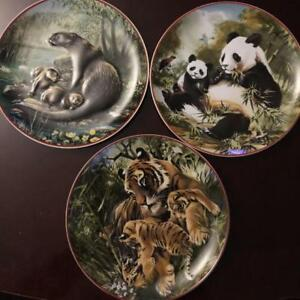 WORLD WILDLIFE FUND COLLECTOR PLATES