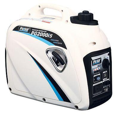 Pulsar 2000 Watt Portable Gasoline Inverter Generator Pg2000is New