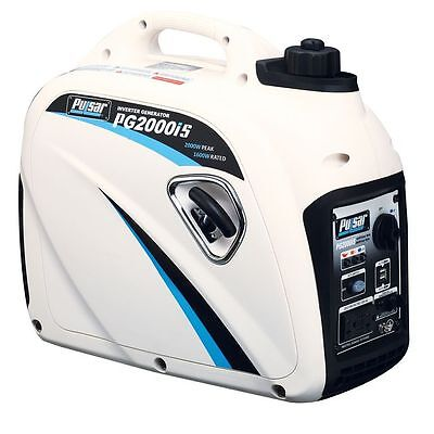 Pulsar 2000 Watt Compact Gasoline Inverter Generator PG2000IS New