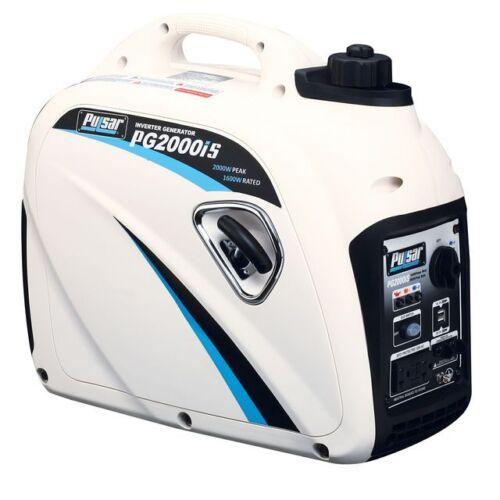 Pulsar 2000 Watt Parallel Ready Portable Gasoline Inverter Generator Pg2000is