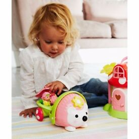 New HappyLand Boys and Girls Wobble Along Hedgehog Toy From 18 months