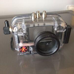 Caisson d'appareil photo plonger sous-marine
