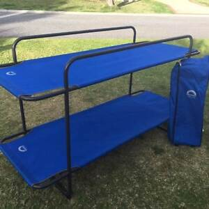 Spinifex Double Bunk Bed (with roll bag) Mindarie Wanneroo Area Preview
