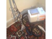 Nilfisk Advance AX 14 Carpet Cleaning Machine. Good condition. Good working order. Complete