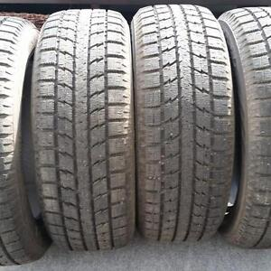 SET OF 4 WINTER TIRES 235 55 R 20 TOYO WITH 80%