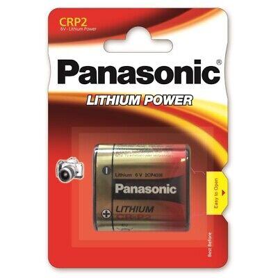 10 x Panasonic CR-P2 - DL223 Lithium Power Photo Batterie 6V im Blister
