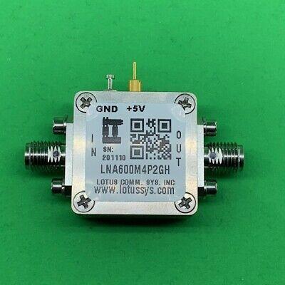 Broadband Low Noise Amplifier 0.67db Nf 600m4.2ghz 19db Gain 2db Flat Gain Sma
