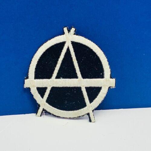 Masonic patch vtg sew on emblem for jacket freemason freemasonry black A shape