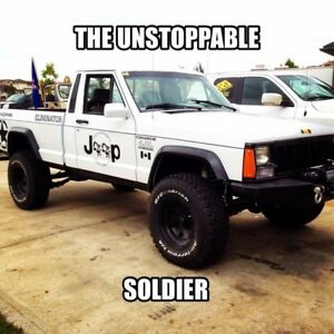 1991 jeep MJ eliminator the jeep XJ truck
