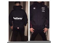 WESTHAM UNITED TRACKSUITS ALL REDUCED TO CLEAR