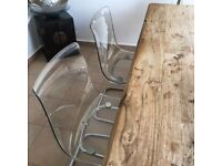 IKEA Tobias Transparent Chair - FREE DELIVERY