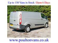 2014 (64) FORD TRANSIT CUSTOM 310 TREND L2 H1 LWB PANEL VAN - 2.2TDCI, Medium